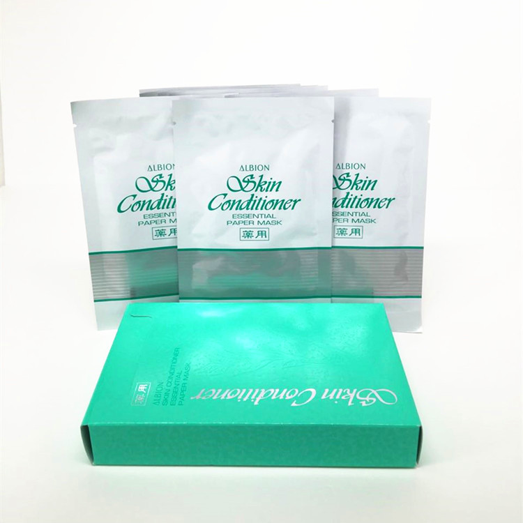 Photo1: Albion Skin Conditioner Essential facial Mask 12 ml × 8 pieces (1)