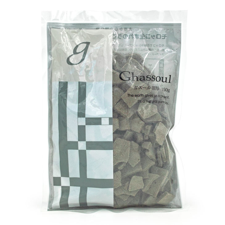 Photo1: Naiad Ghassoul Solid type 150g (1)