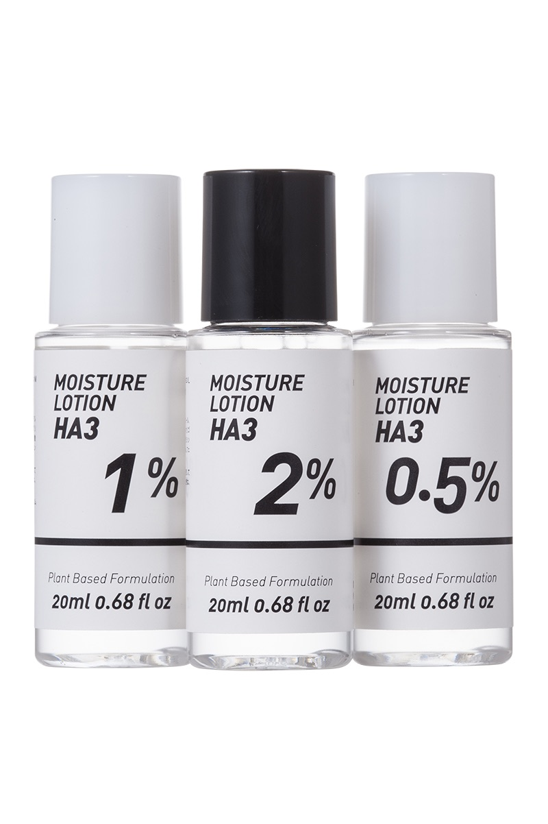 Photo1: 3Mol Moisture Lotion / Formulated hyaluronic acid with different sizes of molecular weights (1)