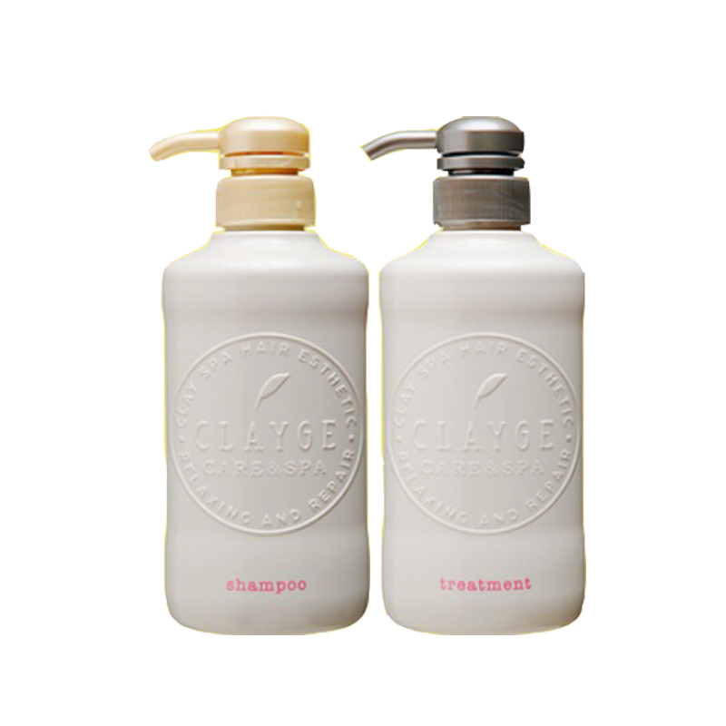 Photo1: CLAYGE hair shampoo and treatment hot and cold head spa (1)