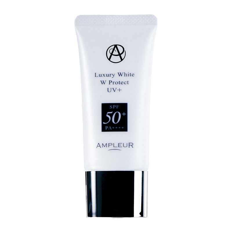 Photo1: AMPLEUR Luxury White W Protect UV Plus 30g Sunscreen (1)